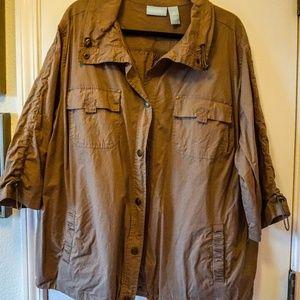 Catherines (Liz&Me) Utility Jacket - 26/28